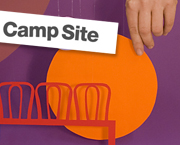 WIS Design with Camp Site at Stockholm Furniture Fair