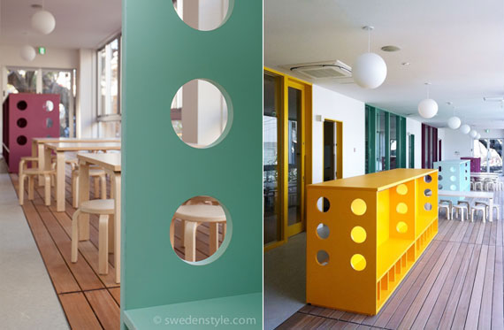 Attractive Description: Interior Design Of A A Nursery School Located In Central  Tokyo, Japan.