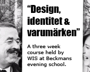 Wis is holding a course at Beckmans